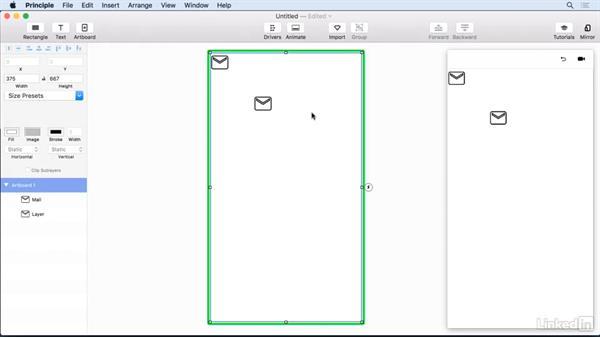 Working with vectors: UX Design Tools: Principle