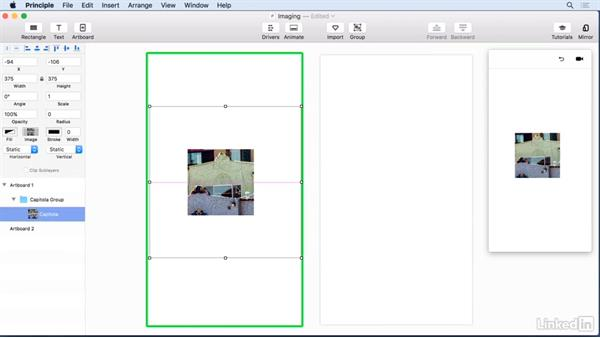 Cropping and masking: UX Design Tools: Principle