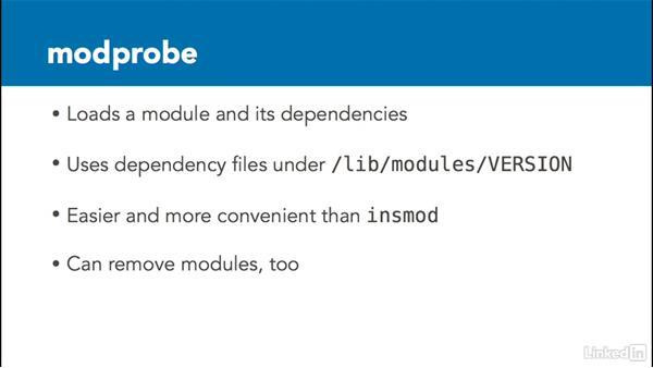Use LKM commands: Linux Kernel Fundamentals