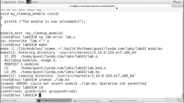 Challenge solution: Linux Kernel Fundamentals