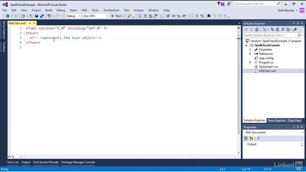 Spellcheck extension: Visual Studio 2015 Essentials 08: Extend and Customize the Visual Studio Environment