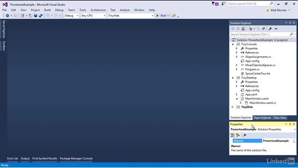 Productivity Powertools extension: Visual Studio 2015 Essentials 08: Extend and Customize the Visual Studio Environment