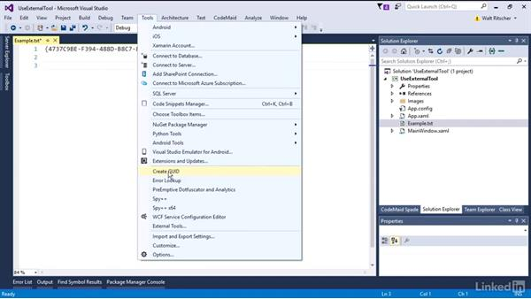 What are external tools?: Visual Studio 2015 Essentials 08: Extend and Customize the Visual Studio Environment