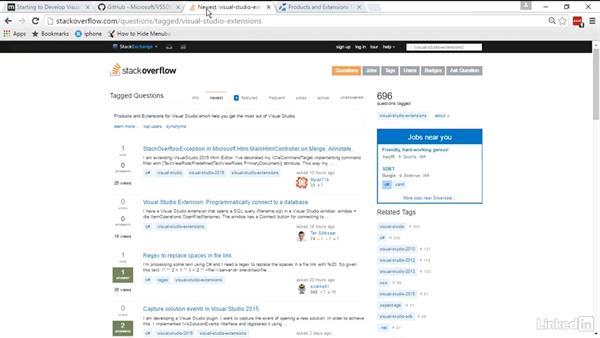 Next steps: Visual Studio 2015 Essentials 08: Extend and Customize the Visual Studio Environment