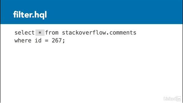 Filters: Data Analysis on Hadoop