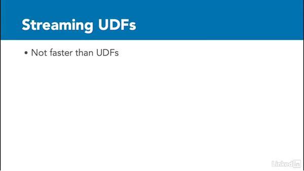 Streaming UDF: Data Analysis on Hadoop