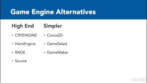 Choose a game engine: Careers in the Game Industry