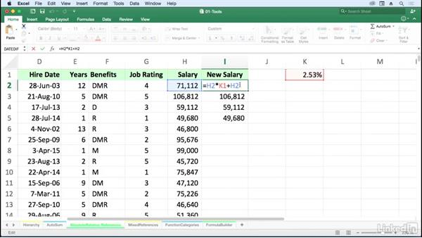 absolute cell reference mac excel