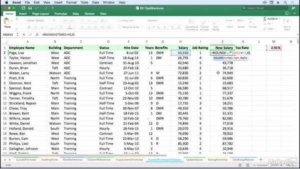 Convert formulas to values with a simple drag: Excel for Mac 2016: Advanced Formulas and Functions