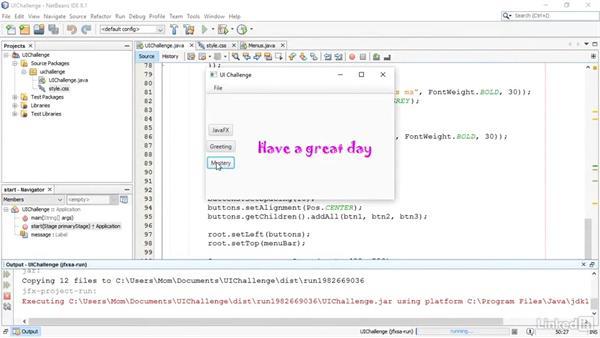 Welcome: JavaFX GUI Development
