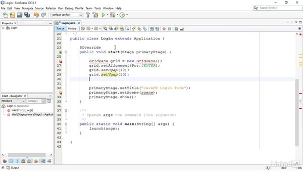 Add form controls: JavaFX GUI Development