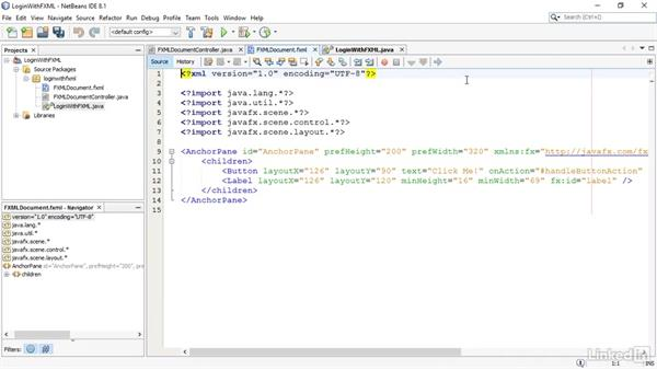 Set up an interface design: JavaFX GUI Development