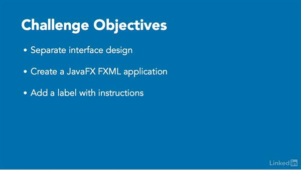 Challenge: Use FXML to let a user ask a question: JavaFX GUI Development