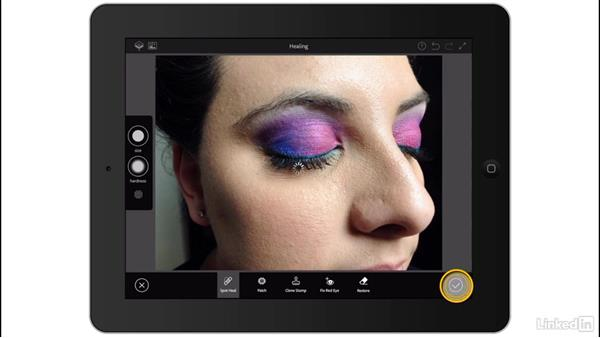 Make adjustments with Photoshop Mix: Adobe Mobile Apps For Designers