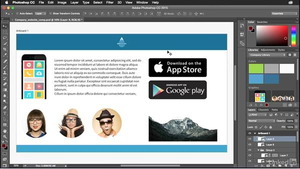Send your work to the desktop: Adobe Mobile Apps For Designers
