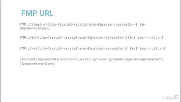 Understanding the FileMaker Pro URL scheme: Learn FileMaker Go 15: The Basics
