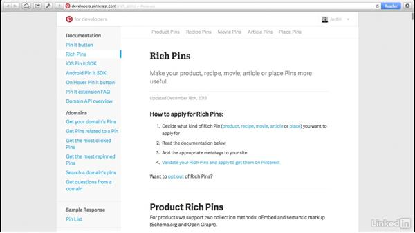 How to create Rich Pins on Pinterest: Social Media Marketing Tips (2014)