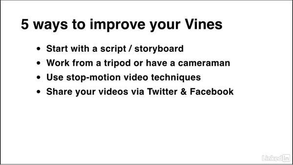 Tips & tricks for better Vine videos: Social Media Marketing Tips (2014)