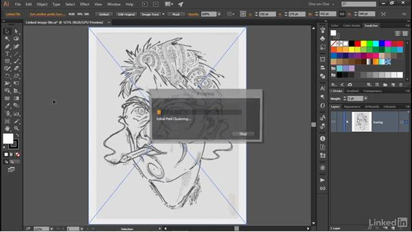 Auto-tracing and resolution: Illustrator CC 2015 One-on-One: Advanced