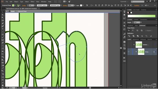 Adding paths to a compound shape: Illustrator CC 2015 One-on-One: Advanced