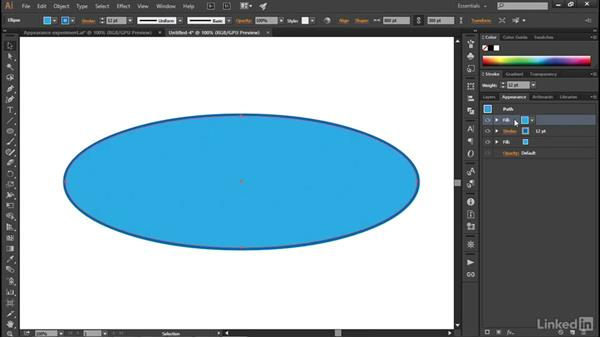 Assigning multiple fills and strokes: Illustrator CC 2015 One-on-One: Advanced