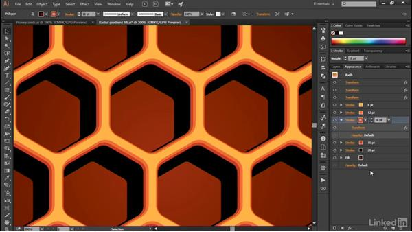 Building up depth with offset strokes: Illustrator CC 2015 One-on-One: Advanced