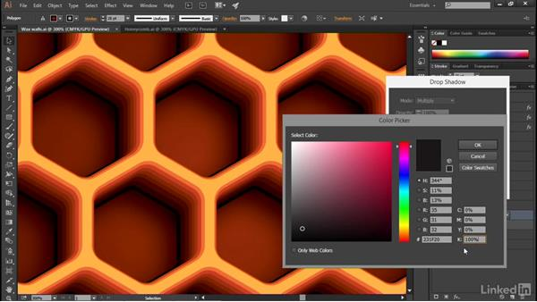 Drop Shadow and Gaussian Blur: Illustrator CC 2015 One-on-One: Advanced