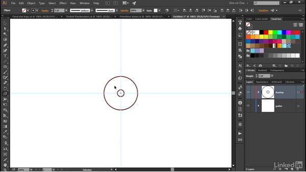 Using the Scale tool to create primitives: Illustrator CC 2015 One-on-One: Advanced