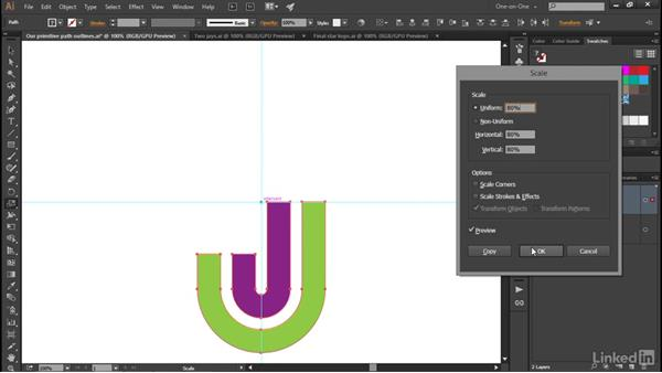Uniting and rotating the primitives: Illustrator CC 2015 One-on-One: Advanced