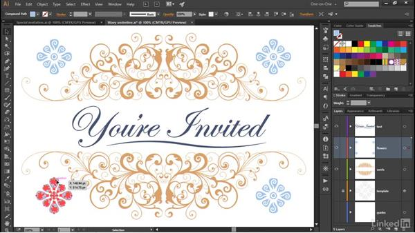 The Transform Each command: Illustrator CC 2015 One-on-One: Advanced