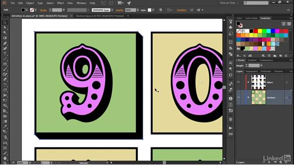 Adding extruded edges to your artwork: Illustrator CC 2015 One-on-One: Advanced