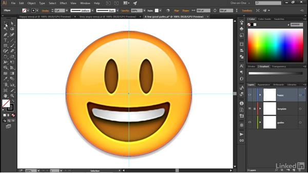 Assigning and modifying a gradient: Illustrator CC 2015 One-on-One: Advanced
