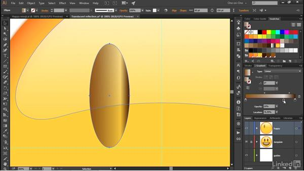 Using the Gradient tool and annotator: Illustrator CC 2015 One-on-One: Advanced
