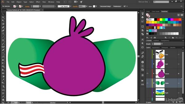 Meet the Reverse Front To Back command: Illustrator CC 2015 One-on-One: Advanced
