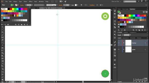Blending between groups: Illustrator CC 2015 One-on-One: Advanced