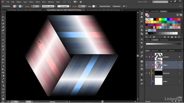 Introducing the false Möbius strip: Illustrator CC 2015 One-on-One: Advanced