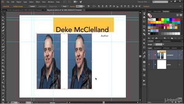Scaling and cropping with the bounding box: Illustrator CC 2015 One-on-One: Advanced