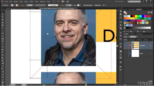 Creating dynamic crop marks around your art: Illustrator CC 2015 One-on-One: Advanced