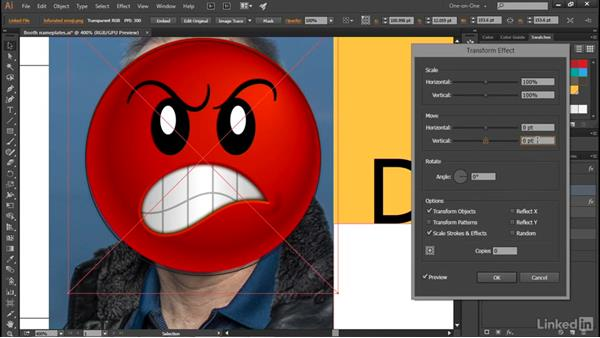 Placing an image with transparency: Illustrator CC 2015 One-on-One: Advanced