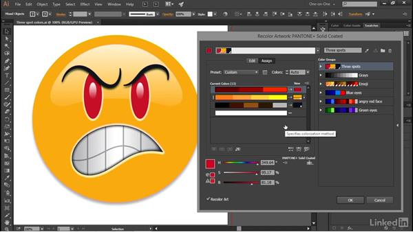 The five color reduction methods: Illustrator CC 2015 One-on-One: Advanced