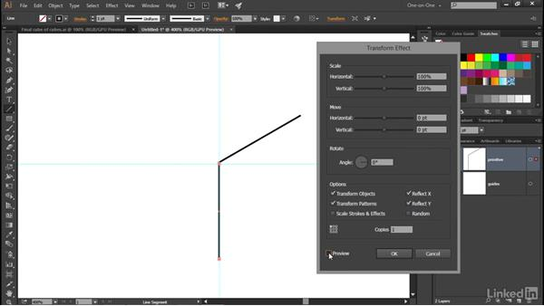 Applying and expanding a dynamic effect: Illustrator CC 2015 One-on-One: Advanced