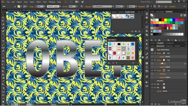 Introducing the Graphic Styles panel: Illustrator CC 2015 One-on-One: Advanced