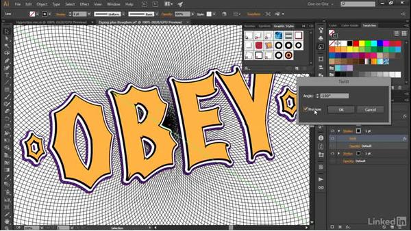 Utterly mastering graphic styles: Illustrator CC 2015 One-on-One: Advanced
