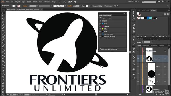 Working with Pantone spot colors: Illustrator CC 2015 One-on-One: Advanced