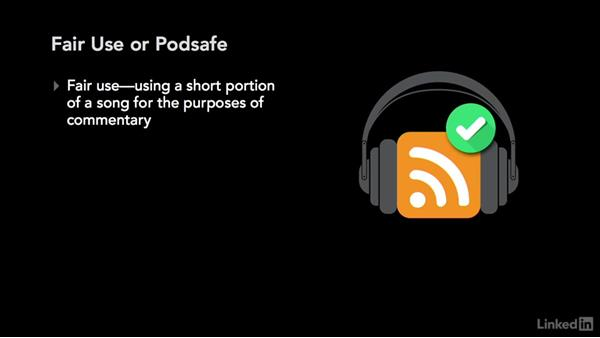 Using music in your podcast: Podcasting: Business and Law