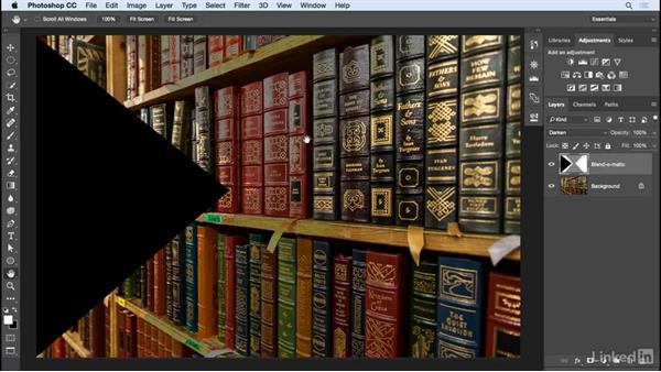 Exploring blending modes: Learn Photoshop Compositing: Ten-Minute Techniques