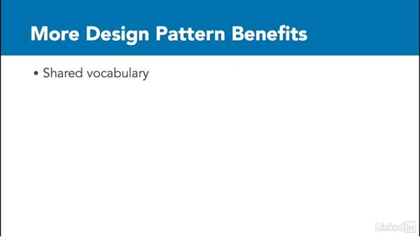 The need for design patterns: C# Design Patterns