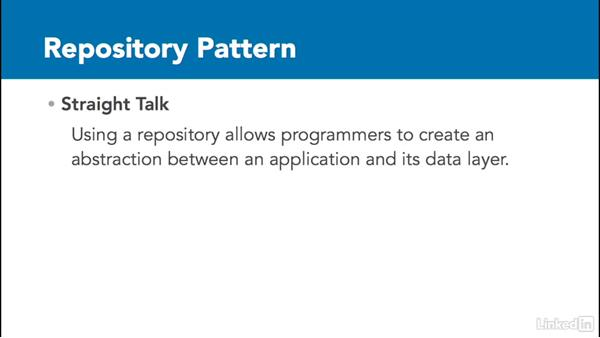 Repository pattern overview: C# Design Patterns