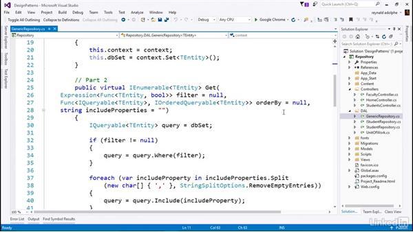 Create a Generic Repository: C# Design Patterns
