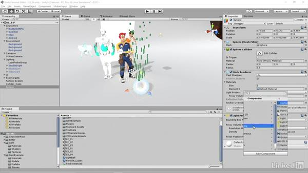 Light Probe Proxy Volumes: Unity 5.4: New Features